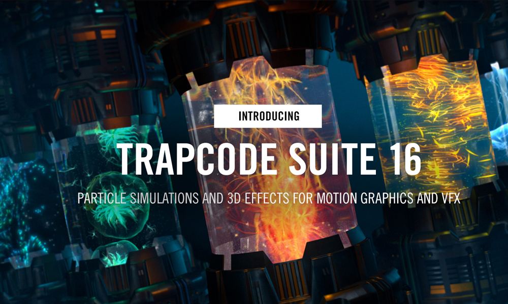 Giới thiệu Red giant trapcode suite 16